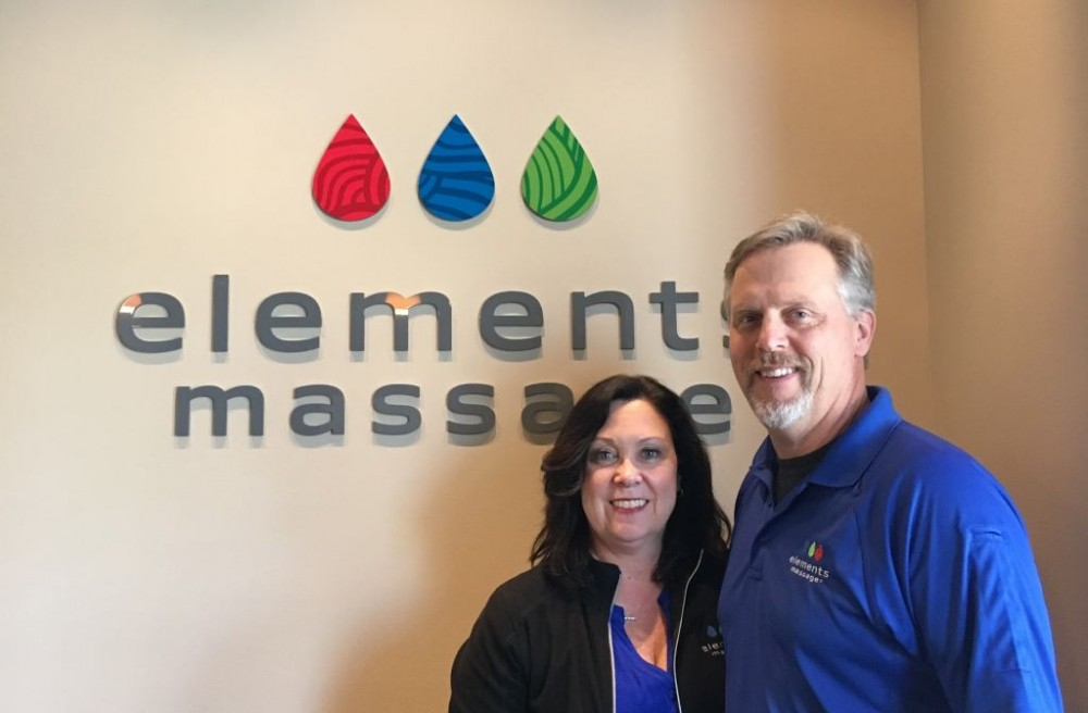 Bill and Lisa Owners of Elements Massage