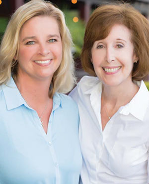 Chari Karinshak and Franne Schwarb of Coldwell Banker Residential Brokerage