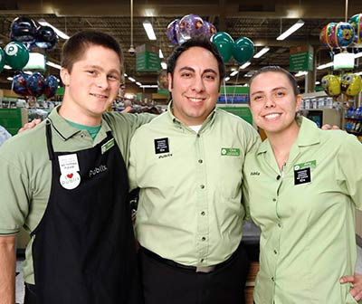 Happy Publix employees