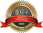 Mount Pleasant Magazine's Best of Mount Pleasant 2020 logo