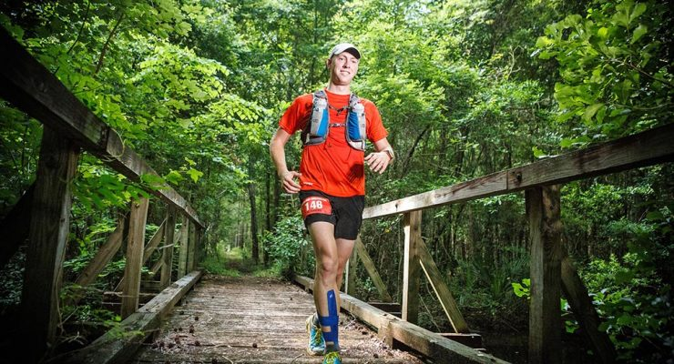 Trail Racing in the  Francis Marion Forest